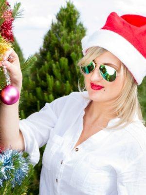 Real Christmas Trees 5.5 Foot Premium